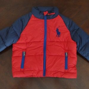 NWT Ralph Lauren Big Pony Ripstop Coat 2t 5 NEW